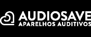 Audiosave Aparelhos Auditivos logo branca
